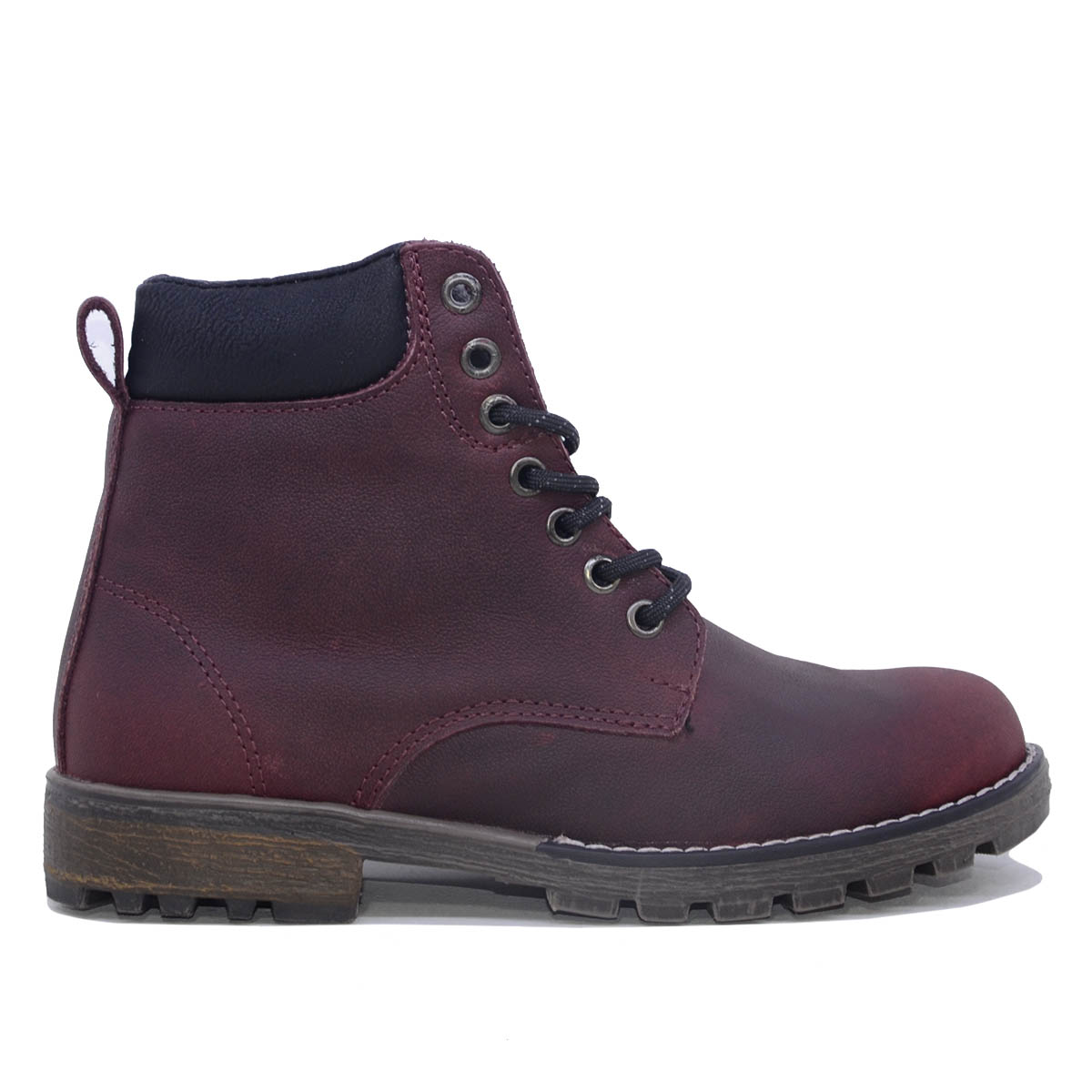 Botas Hipster Mujer PW02C-VT  (Vista Lateral)